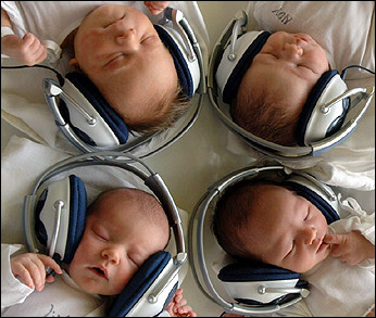 Headphones baby